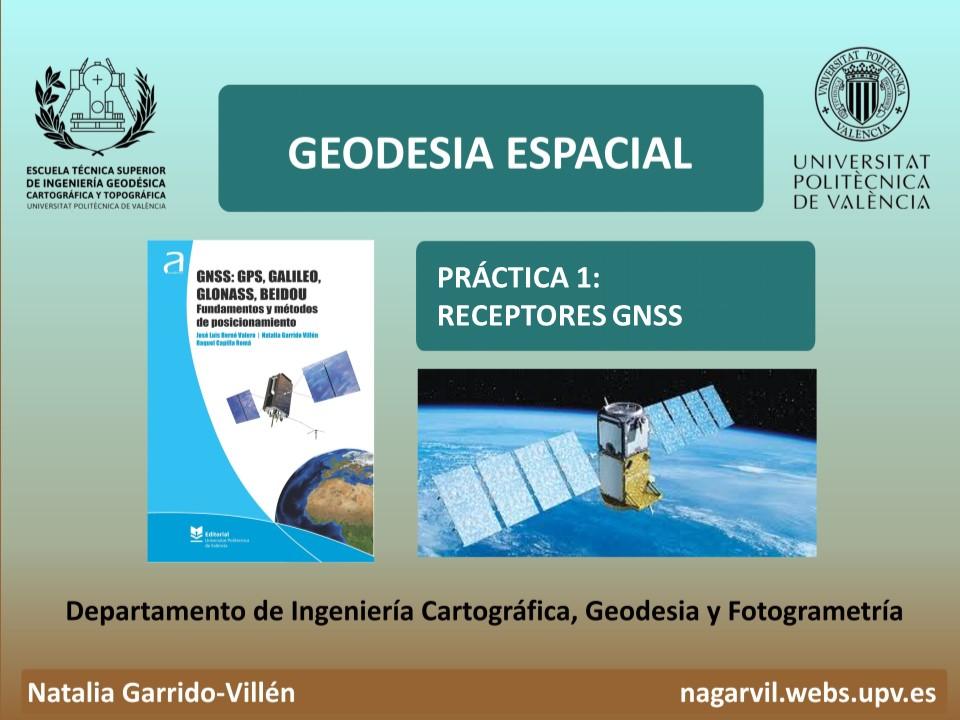 RECEPTORES GNSS - GPS