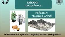 """Portada de la presentación """"Prácticas de triangulación"""""""