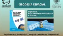 Posicionamiento absoluto y relativo GNSS